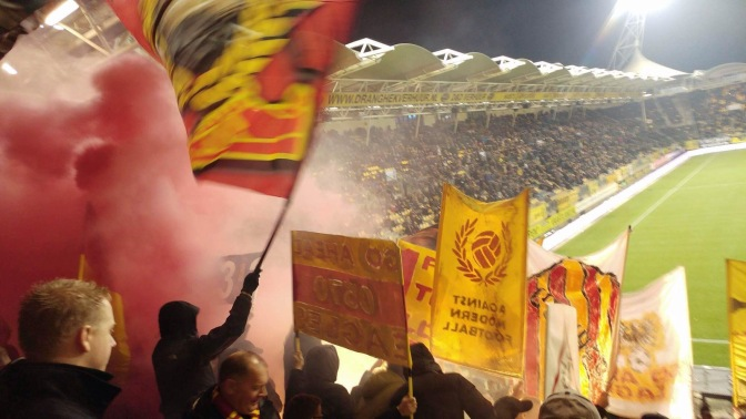 Zware straffen voor Go Ahead Eagles en Willem II na ongeregeldheden