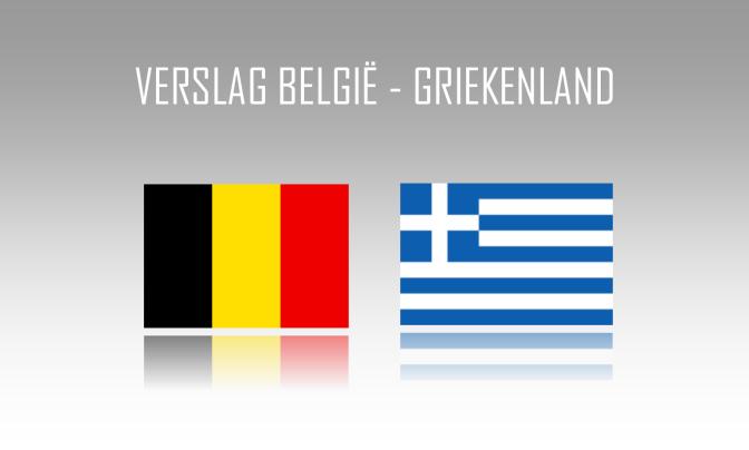Verslag: België 1-1 Griekenland