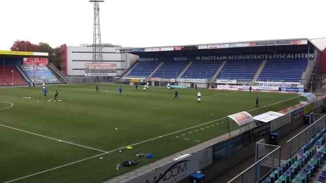 FC Den Bosch-supporters opnieuw naar andere tribune na rellen