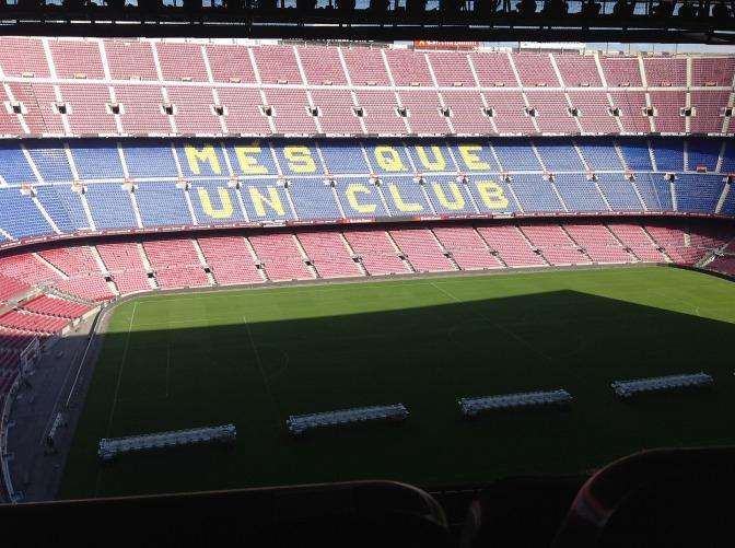 Naam stadion FC Barcelona kan door sponsordeal veranderen in Nou Camp Grifols