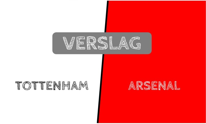 Verslag: Tottenham 2-0 Arsenal