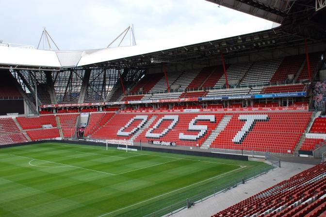 DFVF-onderzoek: in welke provincies wonen de PSV-supporters (incl. plaatsen in België en Duitsland)?