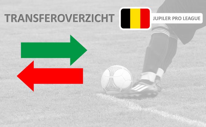 Transferoverzicht juli 2017/2018: Jupiler Pro League