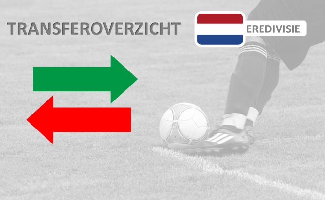 Transferoverzicht juli 2017/2018: Eredivisie