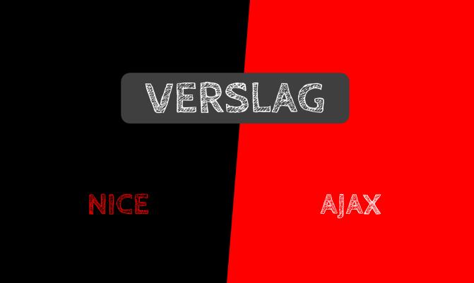 Verslag: OGC Nice 1-1 Ajax