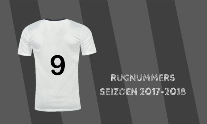 Rugnummers seizoen 2017/2018: Feyenoord, Ajax en PSV
