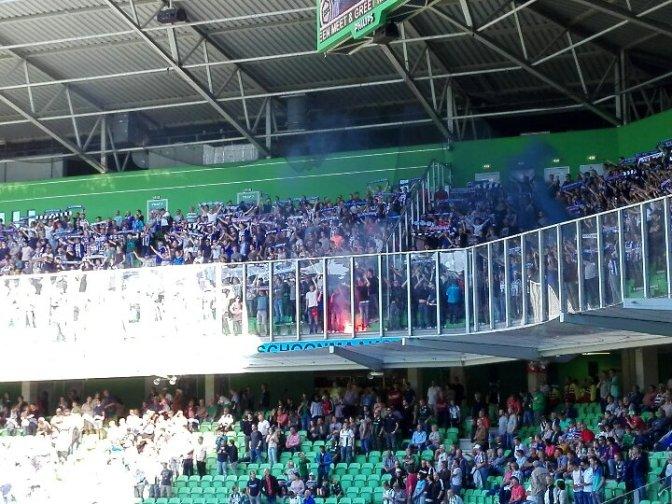 Uitsupporters Eredivisie: speelronde 4