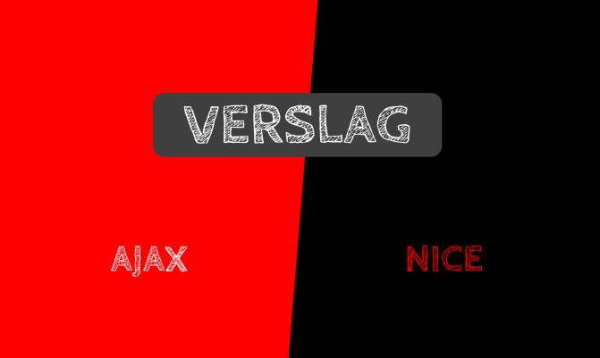 Verslag: Ajax 2-2 Nice