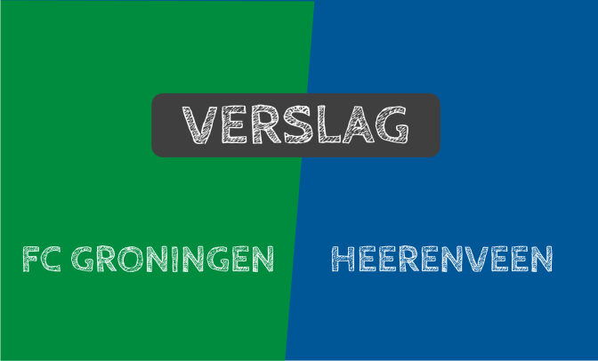Groningen en Heerenveen delen na een zinderend slotstuk de punten: 3-3