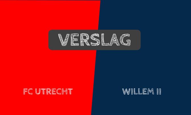 FC Utrecht wint eenvoudig van Willem II: 2-0