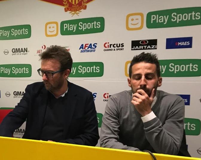 Yannick Ferrera is niet langer coach van KV Mechelen
