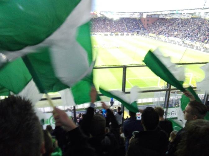Uitsupporters Eredivisie: speelronde 6
