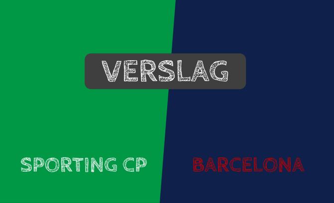 FC Barcelona wint met het kleinste verschil op bezoek bij Sporting: 0-1