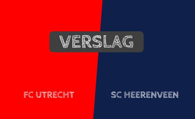 FC Utrecht verslaat Heerenveen met 3-1