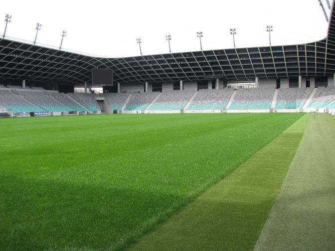 De Groundhopper: Olimpija Ljubljana & Sloveense nationale elftal (Stozicestadion)