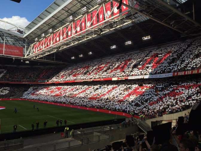 """Ajax-stadion vanaf volgend seizoen officieel """"Johan Cruijff Arena"""""""