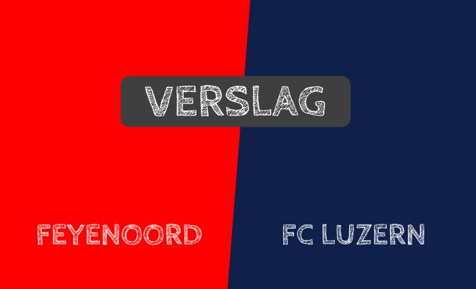 Zwak Feyenoord wint nipt van Zwitsers degradatiekandidaat FC Luzern: 2-1