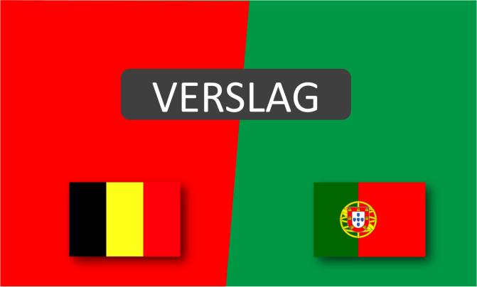 Red Flames spelen gelijk tegen Portugal na razend spannend slot: 1-1