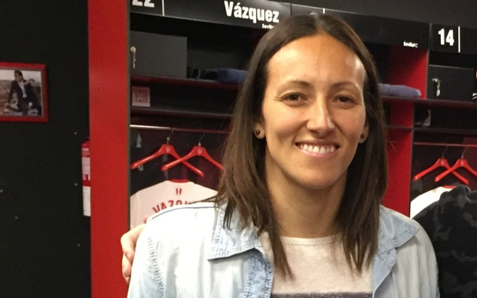 Interview: Sevilla-doelvrouw Pamela Tajonar over opmars van vrouwenvoetbal